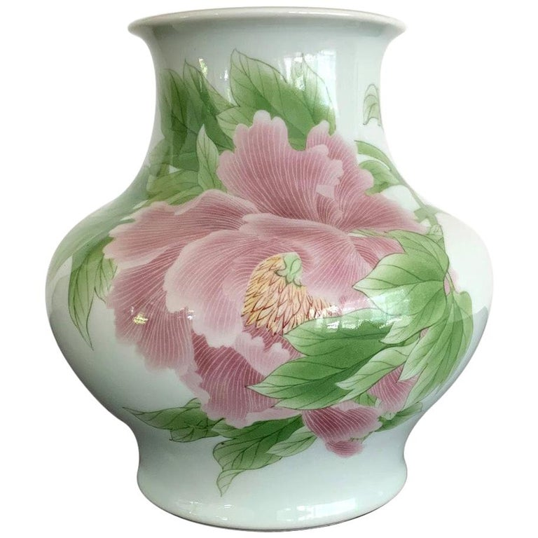 Fine Japanese Porcelain Vase by Makuzu Kozan Meiji Period For Sale