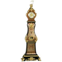 Fine Napoléon III Marquetry Inlaid Eight Day Longcase Clock, circa 1870