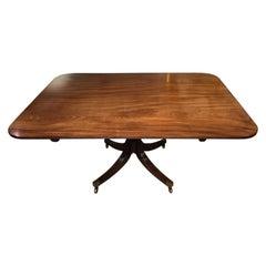 Fine Quality Cuban Mahogany Regency Period Breakfast Table