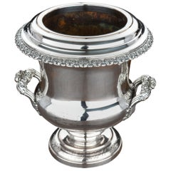 Fine Quality Mid-18th Century Sheffield Plated Champagne Cooler