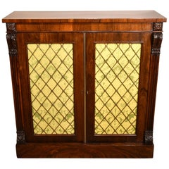 Fine Quality Regency Period Rosewood Cabinet