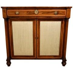 Fine Regency Period Mahogany Side Cabinet