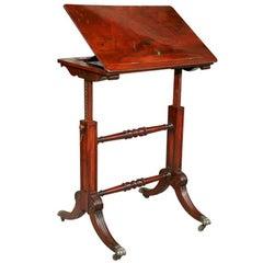 Regency Period Metamorphic Writing /Book Table