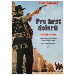 A Fistful of Dollars 1993 Czech A3 Film Poster