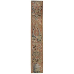 Flemish 17th Century Tapestry Panel,  1'2 x 7'3