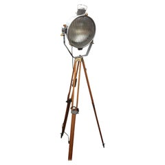 Floodlight with Wooden Tripod, USA, 1890
