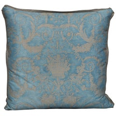 Fortuny Fabric Cushion in the Festoni Pattern