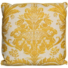 Fortuny Fabric Cushion in the Olimpia Pattern
