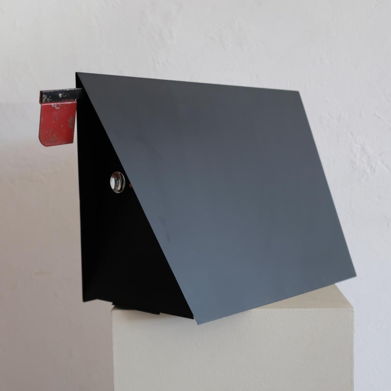 Mid-Century Modern A-Frame Architectural Mailbox, 1950s For Sale
