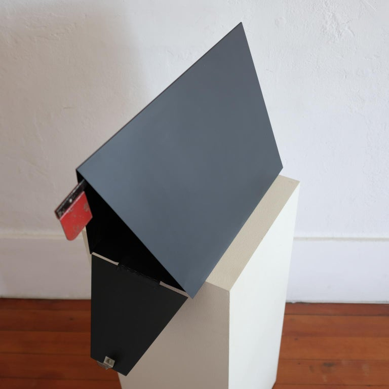 Mid-20th Century A-Frame Architectural Mailbox, 1950s For Sale