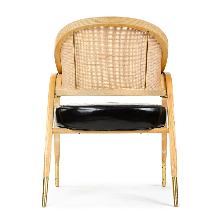 Mid-Century Modern 'A-Frame' Chair by Edward Wormley for Dunbar For Sale