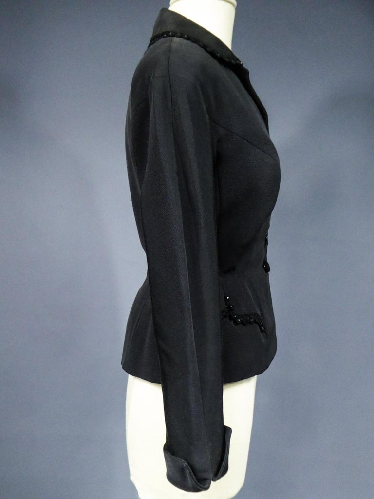 A Frank & Fils French Bar Jacket New Look Period Paris Circa 1948/1950 For Sale 7