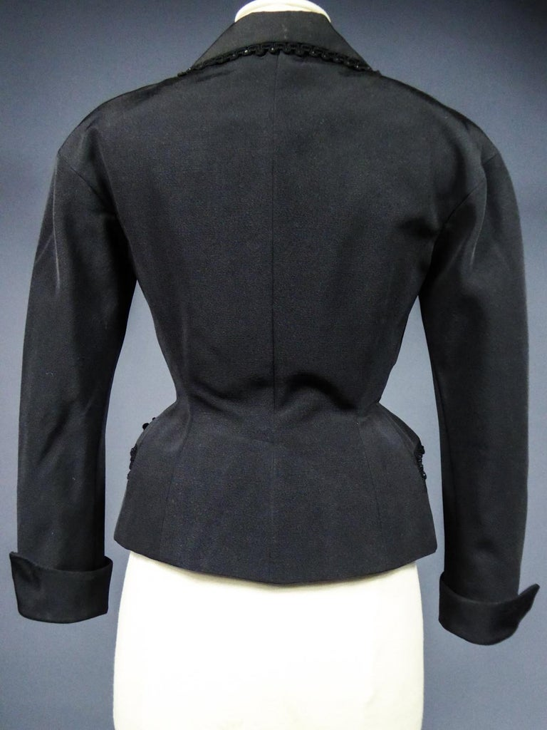 A Frank & Fils French Bar Jacket New Look Period Paris Circa 1948/1950 For Sale 8