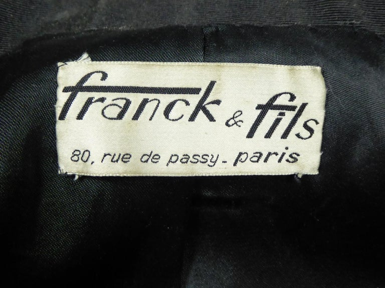 A Frank & Fils French Bar Jacket New Look Period Paris Circa 1948/1950 In Excellent Condition For Sale In Toulon, FR