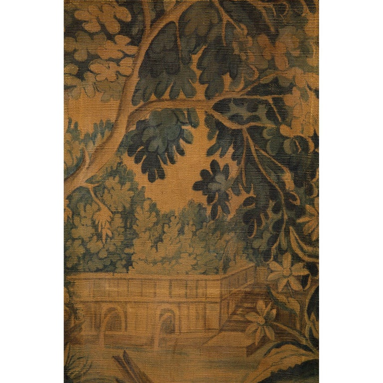 French 18th Century Decorative Tapestry Screen For Sale 2