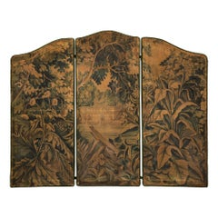 French 18th Century Decorative Tapestry Screen