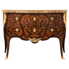 French 19th Century Louis XV Style Commode, Possibly by Maison Soubrier