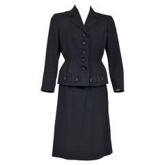 A French Bar Suit skirt and jacket Franck & Fils - Paris Circa 1945/1950
