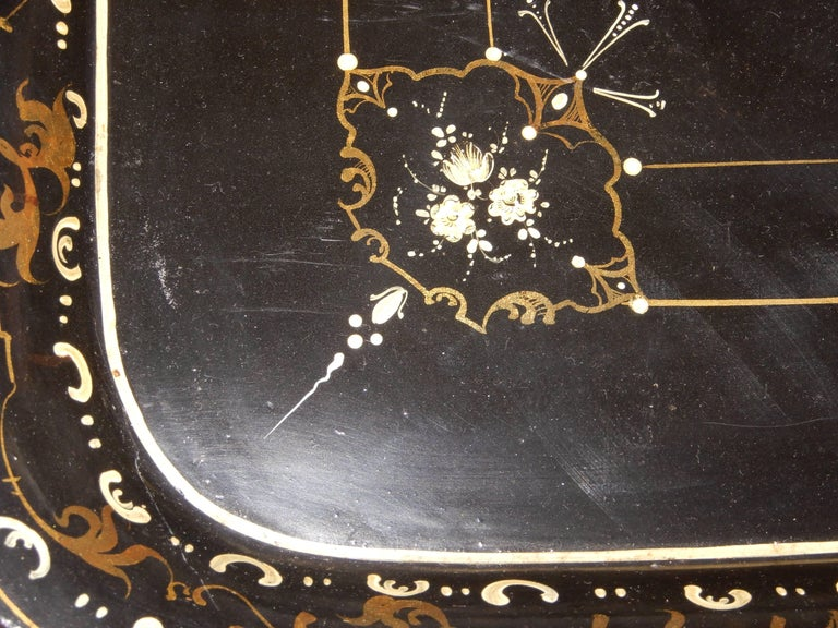 20th Century French Chinoiserie Tray Table, 1920s For Sale