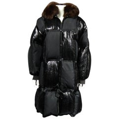 A French Courrèges Couture Parka in DownCirca1990/2000
