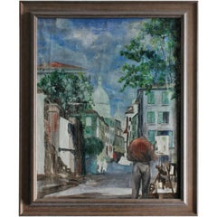 French Impressionist of the Montmartre