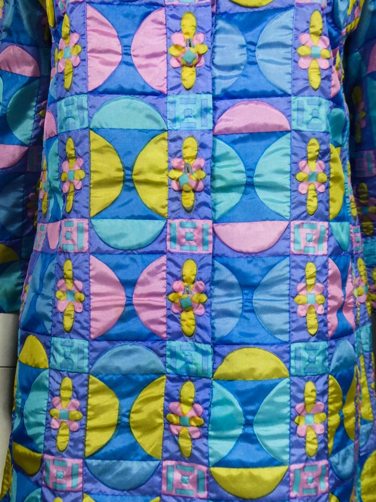 A French Jacques Dessange Pop Art Printed Dress Circa 1970 For Sale 5