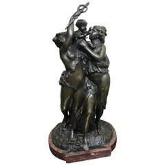 French Late 19th Century Bronze Sculpture