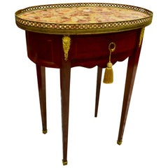 French Louis XVI Style Occasional Table