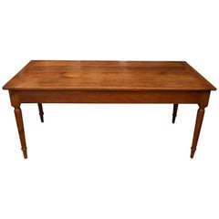 French Provincial Cherrywood Farm Table
