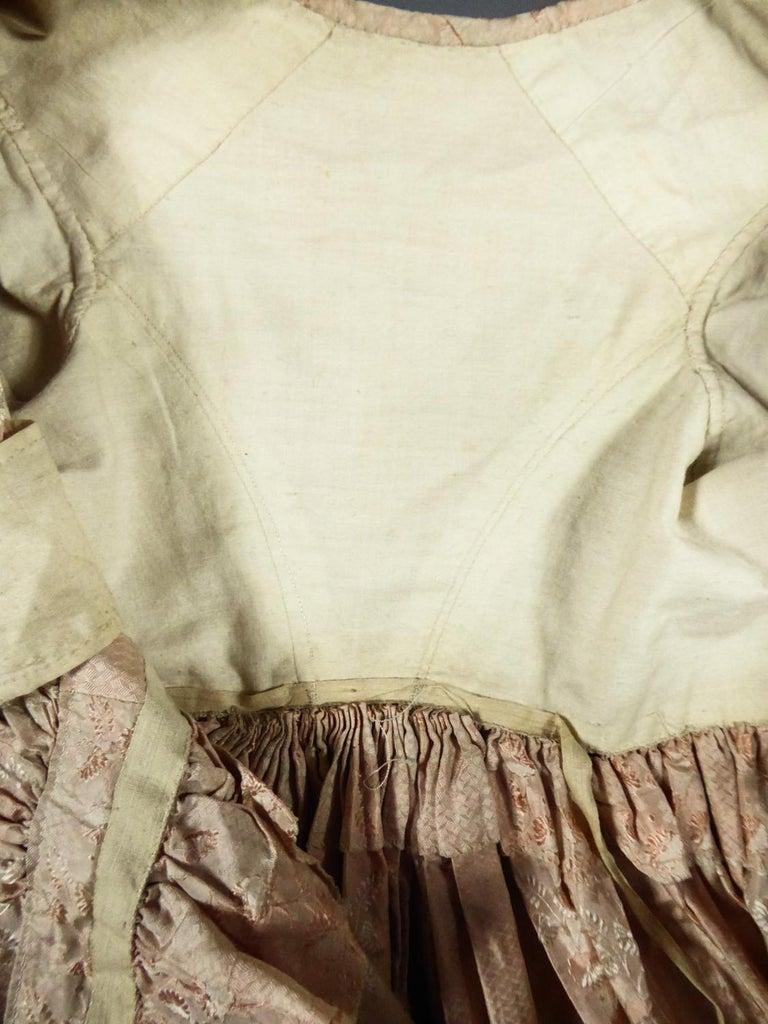 Women's A French Taffeta Silk Ball Gown - France Charles X Period Circa 1825 For Sale