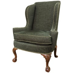 George I Style Winged Armchair