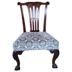 George II Mahogany Side Chair