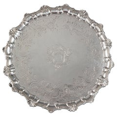 A George II Silver Salver London 1754