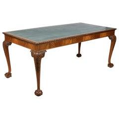 George II Style Mahogany Writing Table