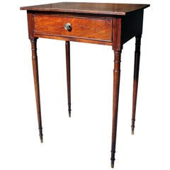 George III Mahogany Side Table, circa 1800