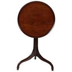 George III Mahogany Tray Top Table