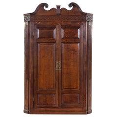 George III Corner Cupboards