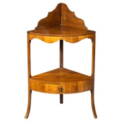 George III Period Mahogany Modified Washstand