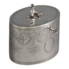 George III Silver Tea Box or Caddy, London, 1772
