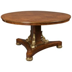 George IV Centre Table Attributed to Thomas & George Seddon, circa 1830