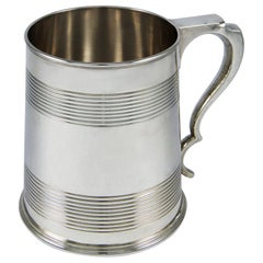 George V Sterling Silver Pint Tankard