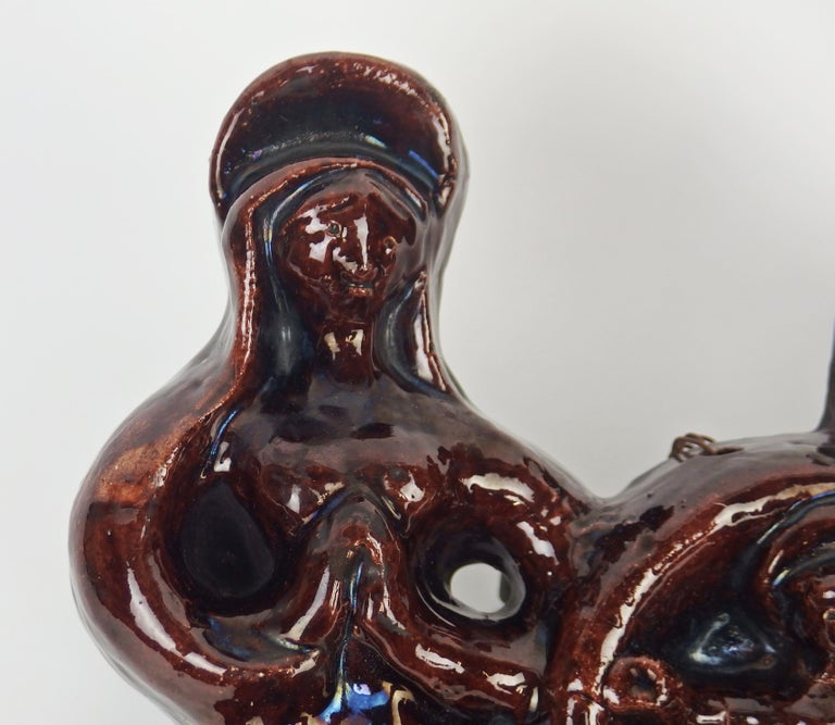 Georges Jouve Terracotta Nativity For Sale 1