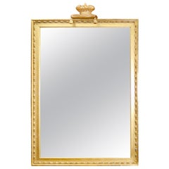 Giltwood English Regency Style Mirror