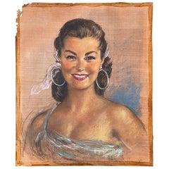 Gisbert Palmie Drawing, 1958