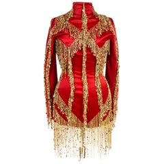 A Givenchy Haute Couture Tunic Dress By Julien MacDonald - Fall-Winter 2002