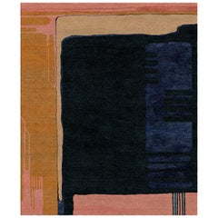 Glass for Sonia Delaunay Hand-Tufted Wool and Viscose Rug