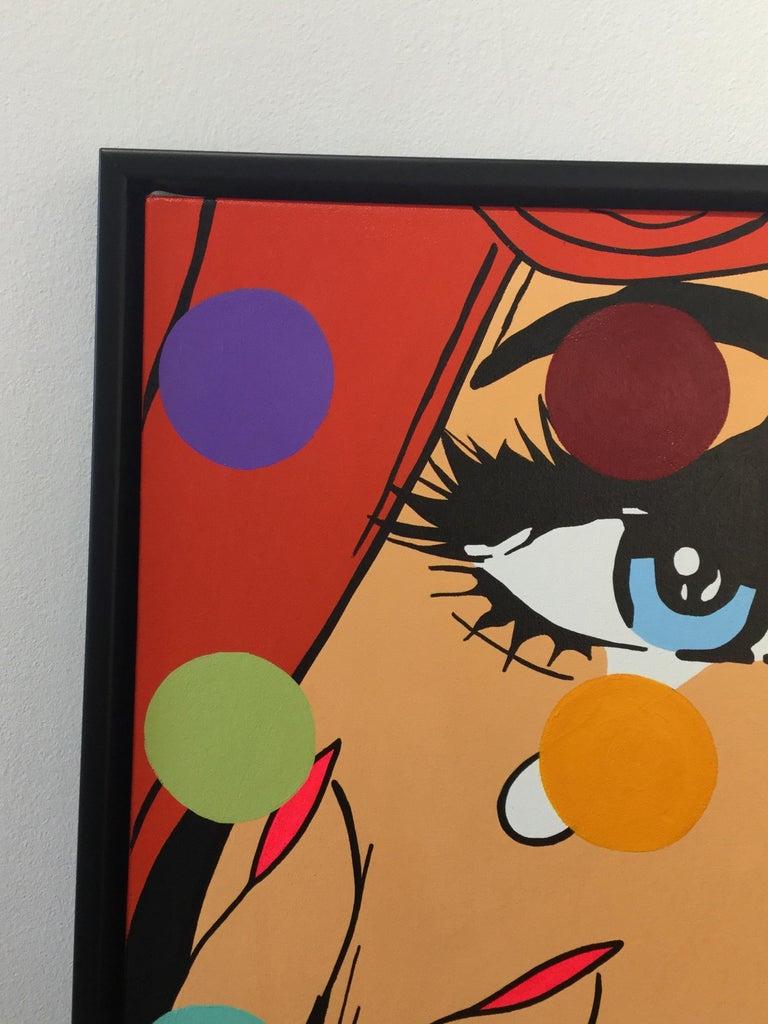 A. Gomez, Disco Dreams - Street Art Painting by A. Gomez