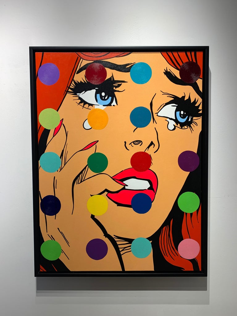 A. Gomez, Disco Dreams - Painting by A. Gomez