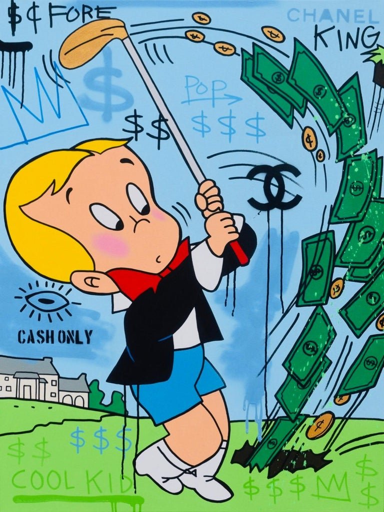 A. Gomez, Richie Rich Goes Golfing For Sale 3