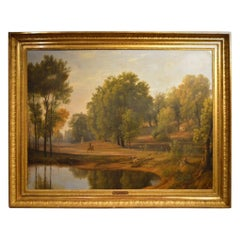 Good Early 19th Century Oil Painting by Didier Boguet